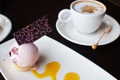 Romantic dessert Stock Images