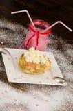 Romantic dessert royalty free stock images