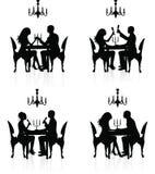 Romantic dinner. Stock Photo