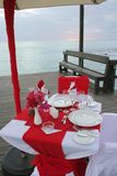 Romantic Dinner Royalty Free Stock Photos