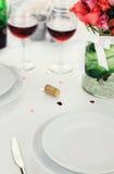 Romantic Dinner Stock Photos