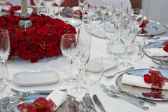 Romantic dinner Stock Photo
