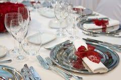 Romantic dinner Royalty Free Stock Photos