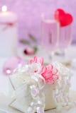 Romantic Dinner Setting Royalty Free Stock Image
