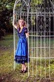 Romantic dirndl fashion Stock Photography