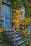 Romantic door and stairway Royalty Free Stock Photography