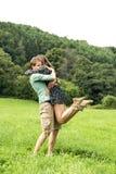 Romantic encounter Royalty Free Stock Image