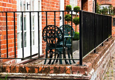 Romantic english backyard Royalty Free Stock Photos
