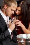 Romantic eve Stock Photos