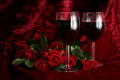Romantic evening Royalty Free Stock Photo