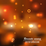 Romantic evening background. Romanticromantic evening background. This is file of EPS10 format Royalty Free Stock Photos