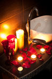 Romantic spa Royalty Free Stock Photography