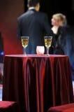 Romantic evening in restaurant Stock Image
