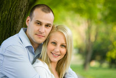 Romantic fashionable young couple. Royalty Free Stock Image