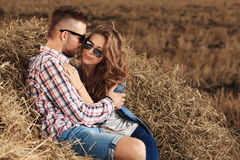 Romantic feelings Stock Photography