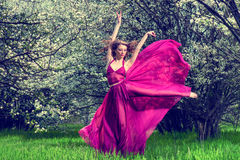 Romantic female portrait Royalty Free Stock Photo