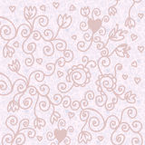 Romantic floral background. In pastel colors Stock Images