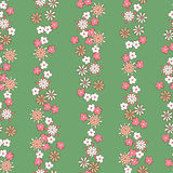 Romantic floral seamless pattern. Light background romantic floral seamless pattern Royalty Free Stock Images
