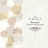 Romantic flower background Royalty Free Stock Photo