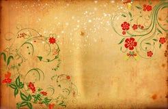 Romantic Flower Background Stock Photo