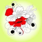 Romantic flowers Stock Photography