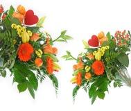 Romantic flowers bouquet Royalty Free Stock Photo