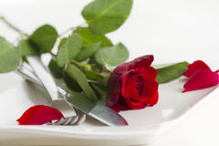Romantic food Royalty Free Stock Images