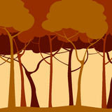 Romantic forest Royalty Free Stock Image