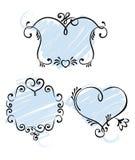 Romantic framework Royalty Free Stock Photography