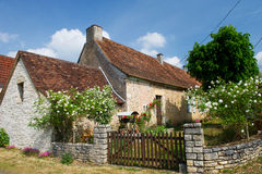 Romantic French house Royalty Free Stock Images