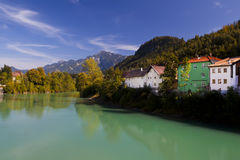 Romantic Fussen, Bavaria Royalty Free Stock Images
