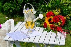 Romantic garden Stock Images
