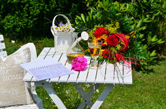 Romantic garden Royalty Free Stock Photo