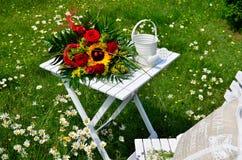 Romantic garden Royalty Free Stock Photography