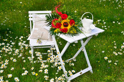 Romantic garden Royalty Free Stock Images