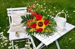 Romantic garden Stock Image