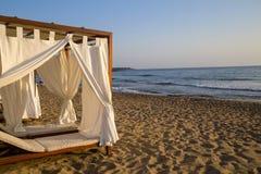 Romantic gazebo lounge at a tropical resort Stock Photography