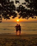 Romantic getaway. A couple on a romantic getaway Royalty Free Stock Photography