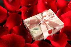 Romantic gift Stock Photo
