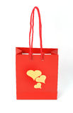 Romantic gift bag Stock Photo