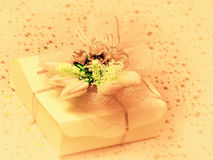 Romantic gift boxes Stock Photography