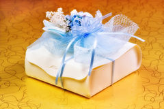 Romantic gift boxes Stock Images