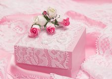 Romantic gift for woman Royalty Free Stock Photos
