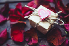 Romantic gift Royalty Free Stock Photography