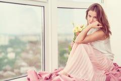 Romantic girl Stock Image