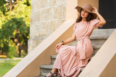 Romantic girl Royalty Free Stock Photos