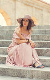 Romantic girl Royalty Free Stock Image