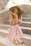 Romantic girl Royalty Free Stock Photography