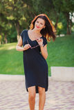 Romantic girl Stock Photography