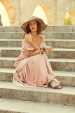 Romantic girl Royalty Free Stock Photo